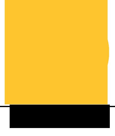 Icone Happy Digital Agency jaune